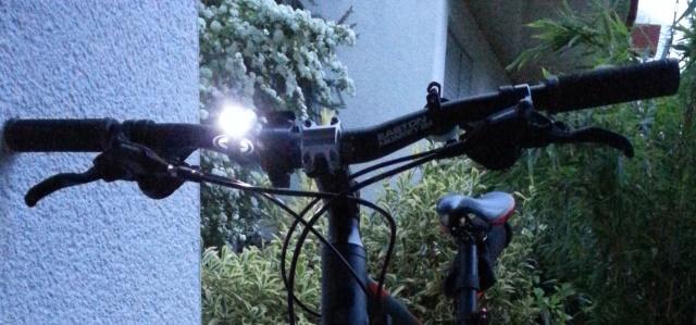 Beleuchtung Fahrrad vorn