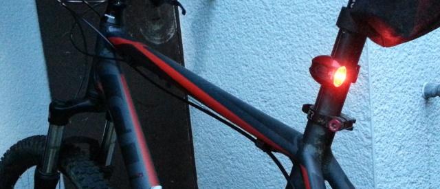 Batteriebetriebenes Licht für alle Fahrradtypen erlaubt