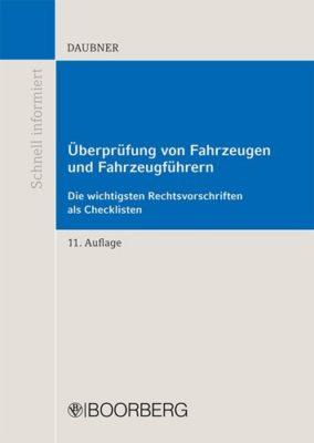 Überprüfung von Fahrzeugen und Fahrzeugführern, 11. Auflage